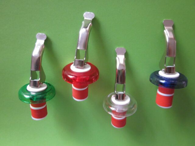 8 Flaschenverschlüsse, Flaschenverschluss, Weinflaschenverschluss-Sektflaschen
