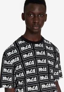 MCQ ALEXANDER MCQUEEN repeat logo T-shirt-PLS READ THE ITEM DESCRIPTION