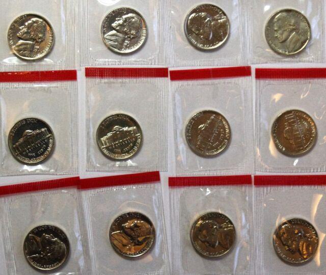 1974 P Jefferson Nickel  ~ Uncirculated Coin in the Original Mint Cello