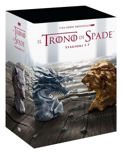 Il Trono Di Spade - Stagioni 1-7 Stand Pack (34 Dvd) HBO