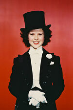 Shirley Temple 11x17 Mini Poster in top hat and tuxedo