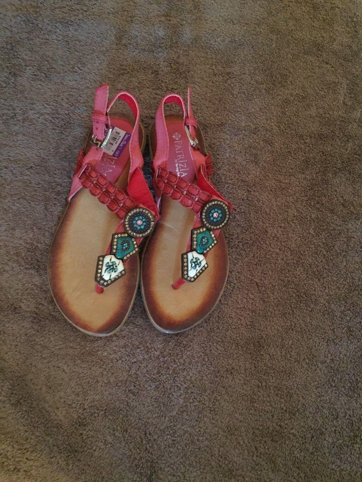 Ladies sandals Patrizia Red t strap sandals Ladies size 36 718fa3