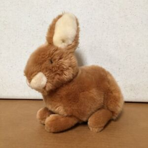 "Vintage Gund Bunny Rabbit PLUSH Stuffed Animal Babs Brown Bunny 10"" AR59"