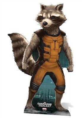 Rocket Raccoon LIFESIZE CARDBOARD CUTOUT Marvel Guardians Of The Galaxy Standee
