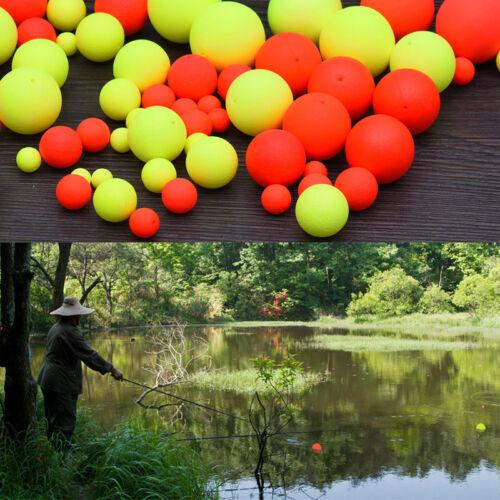 100x EPS Fisch Float Ball Senior Eva Schaum Indikator Float Angelzubehör