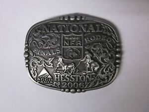 2014 Hesston National Finals Rodeo Youth Belt Buckle