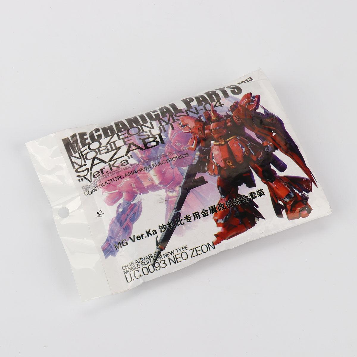 Metal Set New Details Up Part For Bandai 1 100 MG Sazabi ver Ka Gundam Model Kit