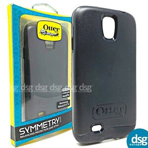 brand new 7bdee cfa88 Details about OTTERBOX SYMMETRY CASE COVER FOR SAMSUNG S4 BLACK HARD  77-37065 SHOCK