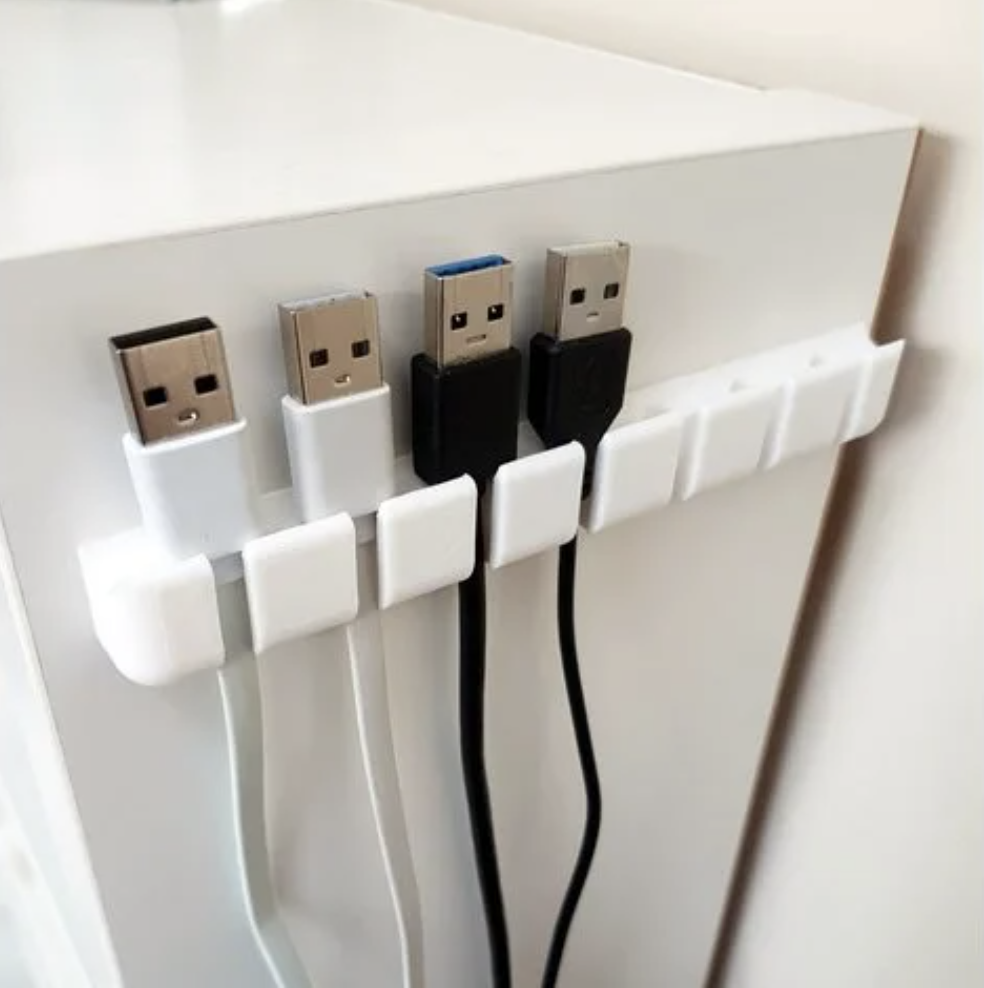 3D Printed USB Cable Holder