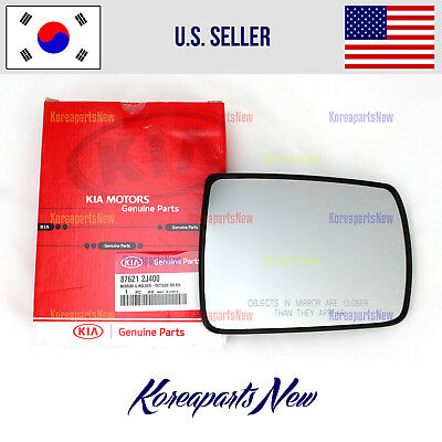 Mirror Glass Right Passenger Side HEATED 876211F301 KIA SPORTAGE 2008-2010