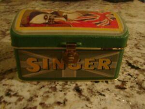 VINTAGE-SINGER-SEWING-MACHINE-UK-FLAG-METAL-TIN-BOX-ONE-OF-A-KIND