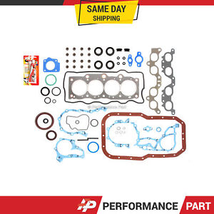 Details about Full Gasket Set for 87-91 Toyota Camry Celica 2 0L DOHC 3SFE