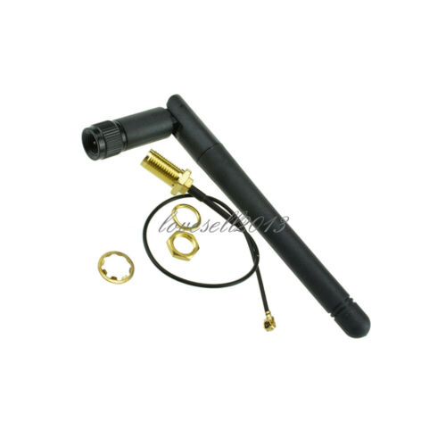 NEW 2.4G Wireless SMA Antenna with Extension cord for NRF24L01 PA CC2500