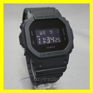 d4c478f0d80f New Casio G-Shock DW-5600BB-1 Limited Edition Matte Black Shock ...