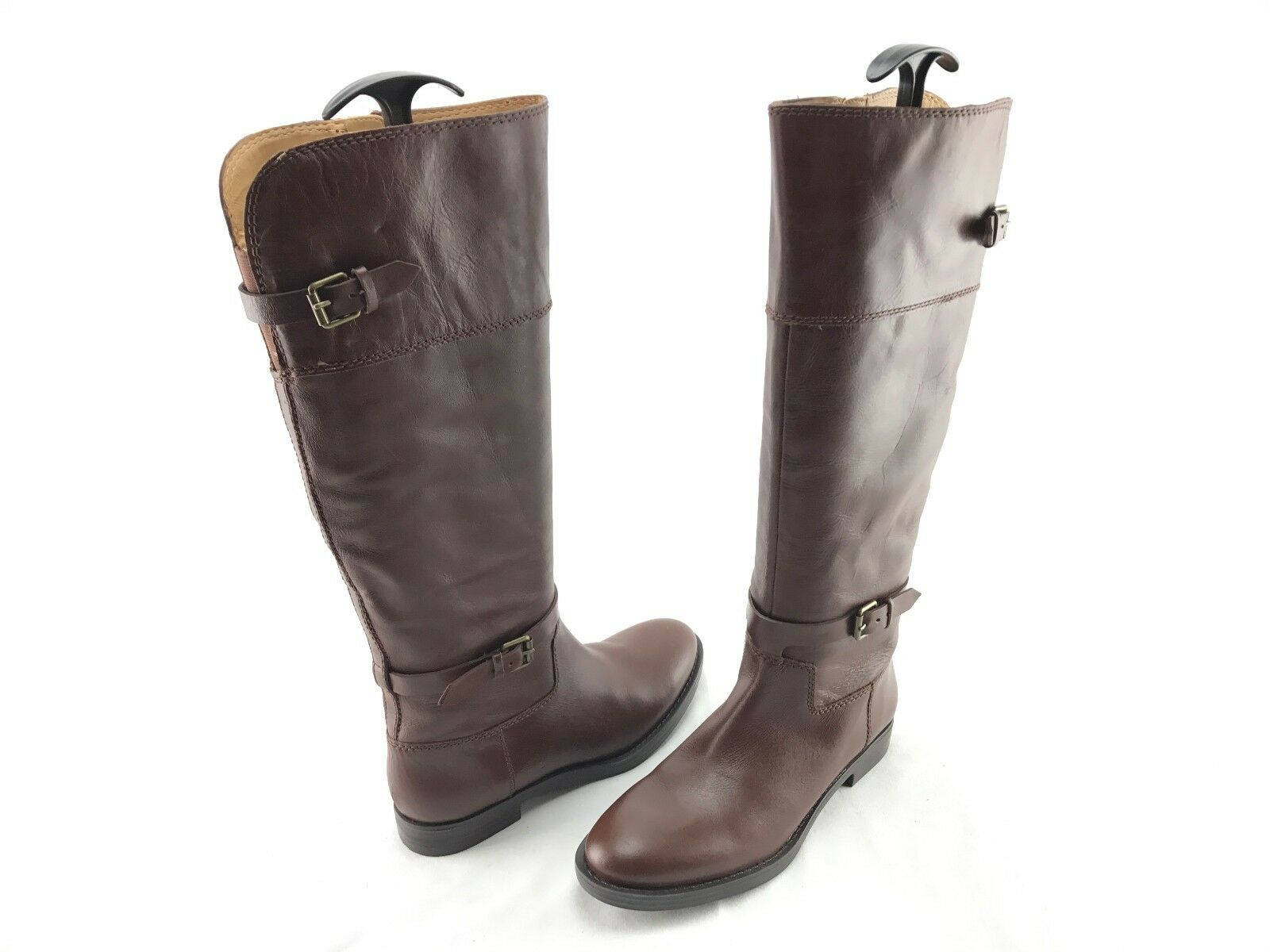 NEW Enzo Angiolini Eero Wouomo Marronee Leather Knee stivali US Dimensione 7 M scarpe  699