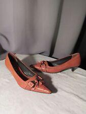 escarpins EASY cuir fauve 37,5