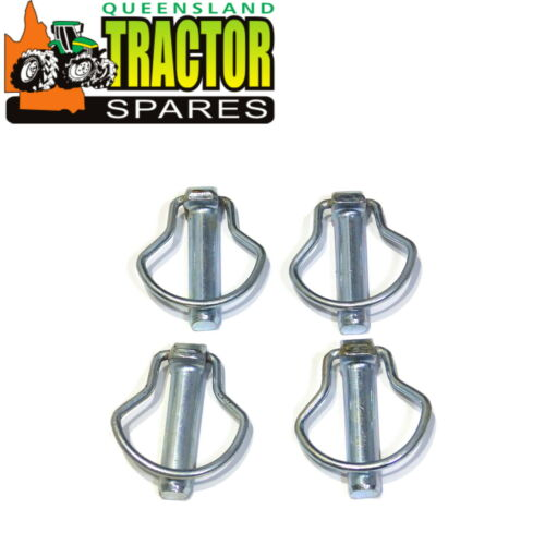 TED20 and TEF20 Original Look Pear Shape Tractor Linch Pins x 4 Ferguson TEA20
