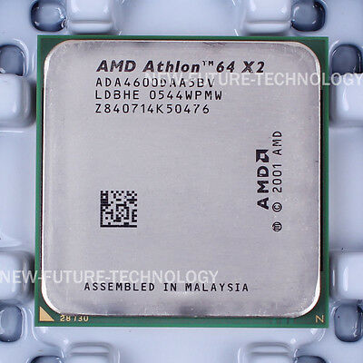 AMD Athlon 64 X2 4600+ (ADA4600DAA5BV) CPU 2000 MHz 2.4 GHz Socket 939 100% OK