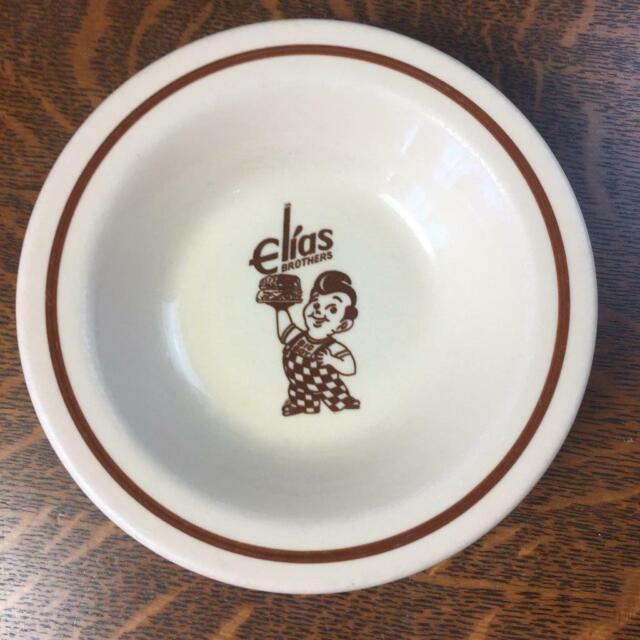 """Sterling S Restaurant: Vintage Bob's Big Boy Elias Brothers 6 1/2"""" Bowl Sterling"""