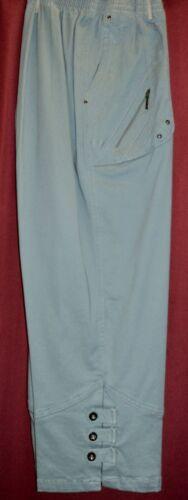 Damen 3//4 Sommer Hosen Jeans 7//8 Schlupfjeans Stretch Caprihose Gr. 40-54//56