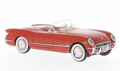 Chevrolet Corvette Cabrio C1 1953 Chevy braun offene Türen 1//43 Road Champs d