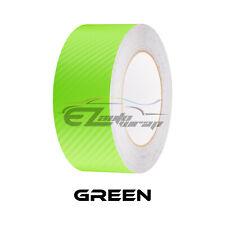3d Matte Carbon Fiber Racing Stripes Vinyl Wrap Rally Sticker 10ft20ft Long