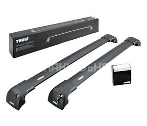 Thule WingBar Edge Black Roof Rack BMW 5 F11 Touring 2010 ...