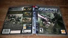 MOBILE SUIT GUNDAM CROSSFIRE PLAYSTATION 3 PS3 LN 100% PERFECT COND COMPLETE!