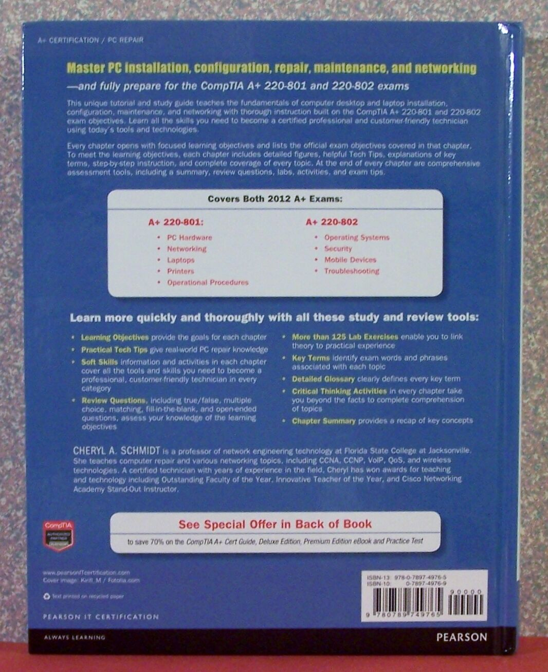 Complete comptia a guide to pcs by cheryl a schmidt 2013 resntentobalflowflowcomponentncel fandeluxe Image collections