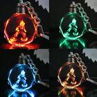 Dragon Ball Dragonball Z Son Saiyajin Goku Crystal LED light Pendant Key Chain