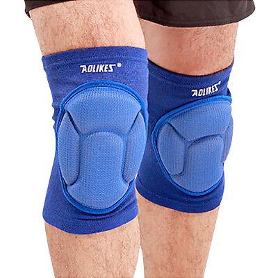 Pair Black Knee Pads Construction Work Sport Safety Gel Leg Protectors XL