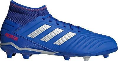 Scarpe da calcio bambino ragazzo ADIDAS Predator 19.3 FG J blu CM8533 | eBay