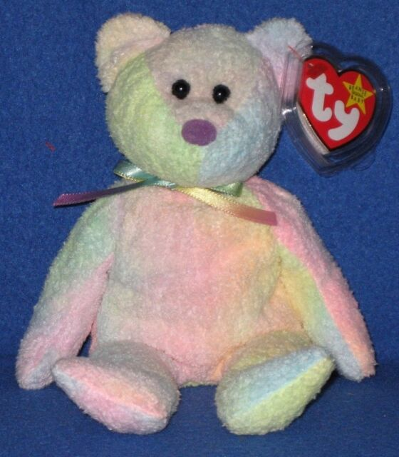 """TY BEANIE BABY 2006 /"""" GROOVEY /"""" THE BEAR MINT WITH MINT TAGS"""