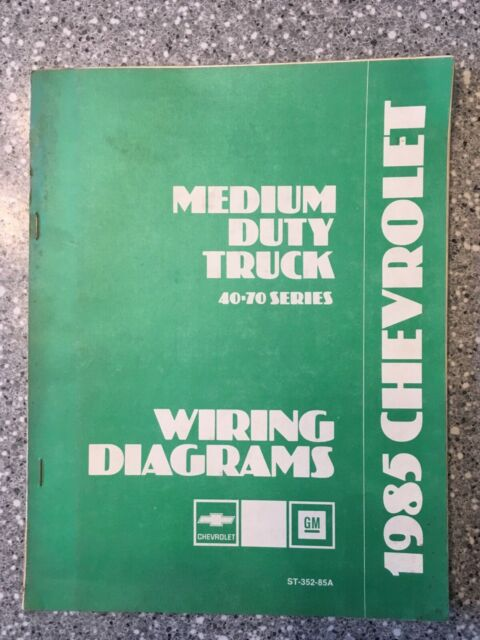 1985 Chevy C40 C50 C60 C70 Medium Duty Truck Electrical