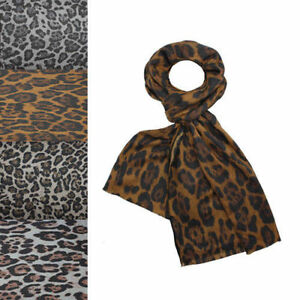 NEW-Animal-Leopard-Print-Scarf-Shawl-Long-Large-Warm-Soft-Wool-Winter-Autumn-UK