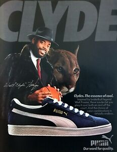 1985-Walt-Clyde-Frazier-photo-Puma-Clydes-Sneakers-Shoes-vintage-print-ad