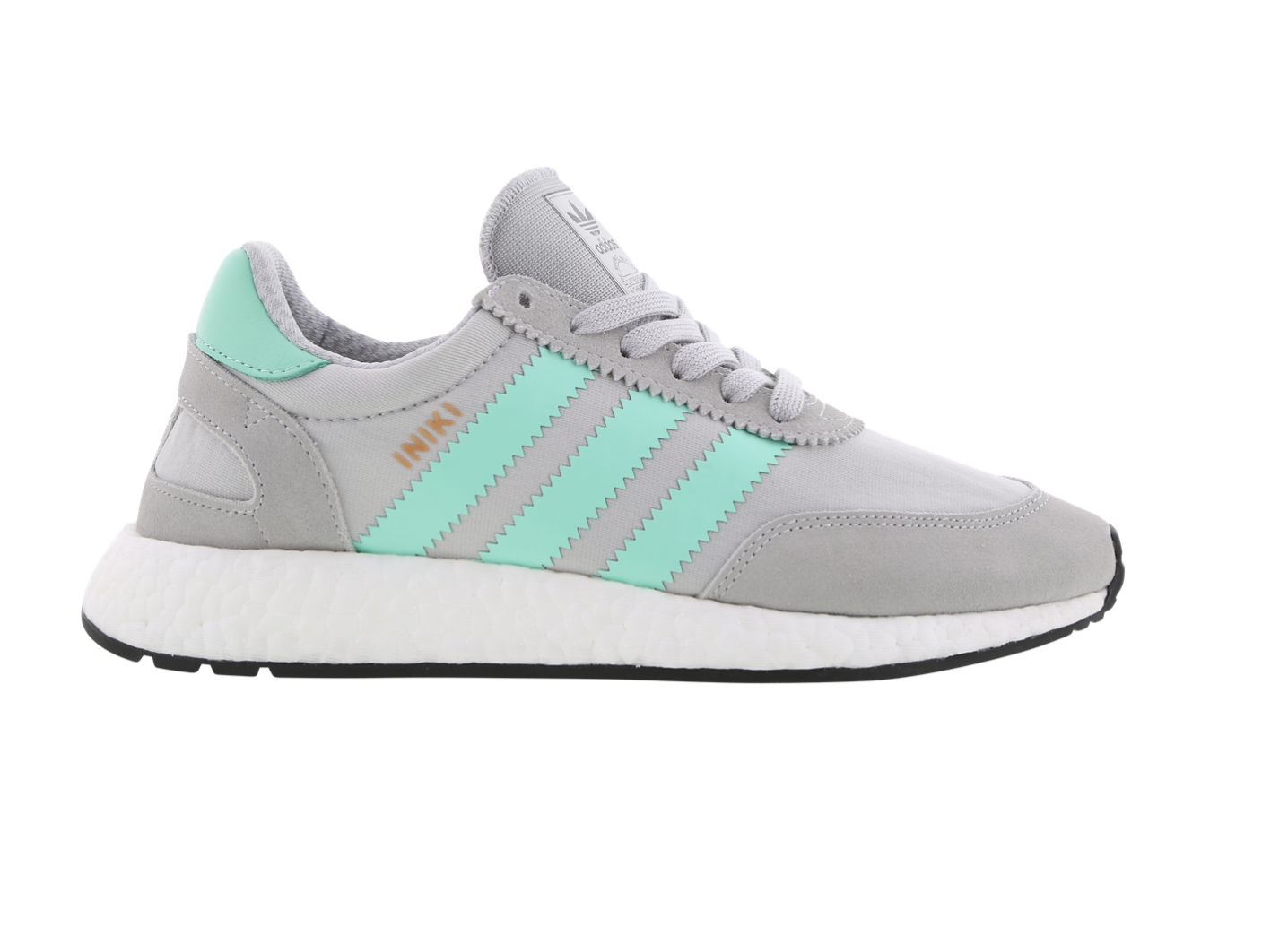Mens ADIDAS INIKI RUNNER Grey Running Trainers BB2747