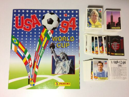 GUNNAR HALLE WC USA /'94 Panini 1994 NORGE -New Figurina-Sticker n 351