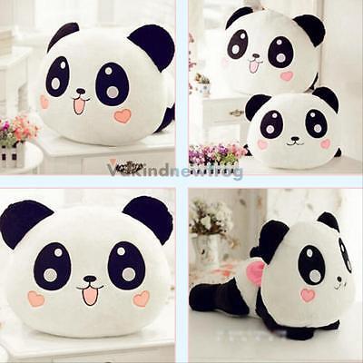 "8"" 20cm Cute Plush Doll Toy Stuffed Animal Panda Pillow Bolster Cushion Gift VF"