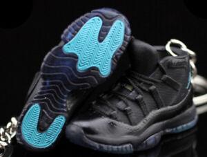 a0eb03a0d5ebc4 Air Jordan XI 11 Retro Gamma Blue Legend OG Sneaker Shoes 3D ...