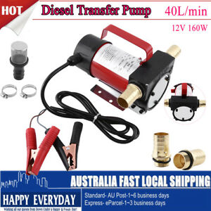 40 l min self priming transfer fuel diesel pump filter kit 5m Refrigerator Filters