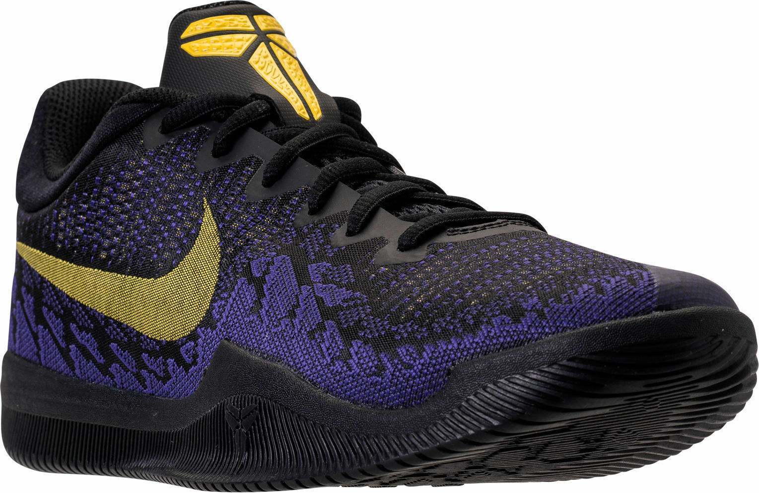 8f763159ae Men's Nike Nike Nike Kobe Mamba Rage Black Tour Yellow Purple Sizes 8-13 NIB