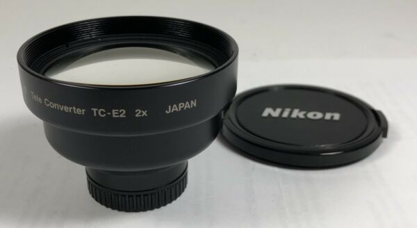 Nikon Teleconverter TC-E2 2x for Nikon 4300, 4500 & 5000 Digital 95% condition