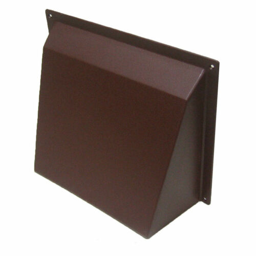 """9/"""" x 9/"""" Brown Air Brick Cowl Cover Vent Blast Surface Mounted Openings Grilles"""