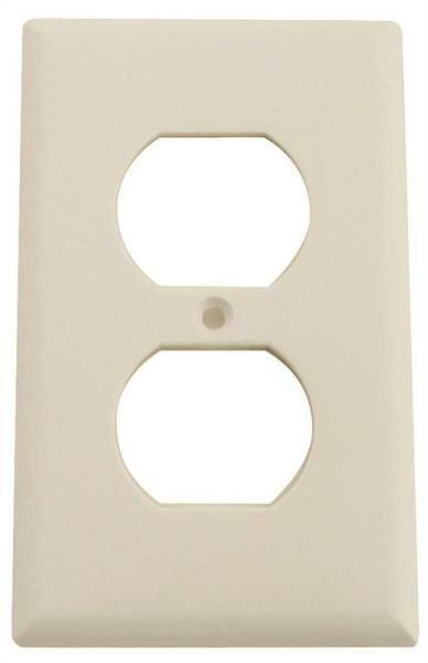 Duplex Cooper White 2132w Cover Receptacle 25 Outlet Wallplates for sale online