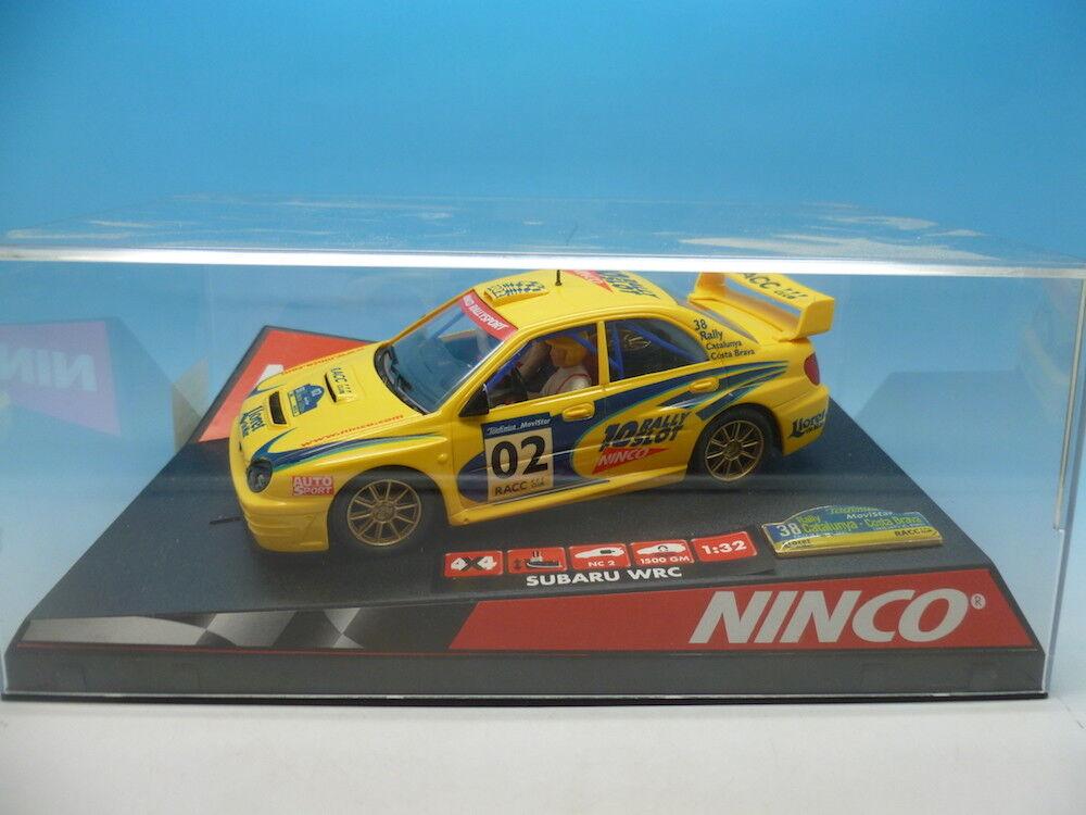 Ninco 50257 Subaru WRC Catalunya Lts Ed, mint unused