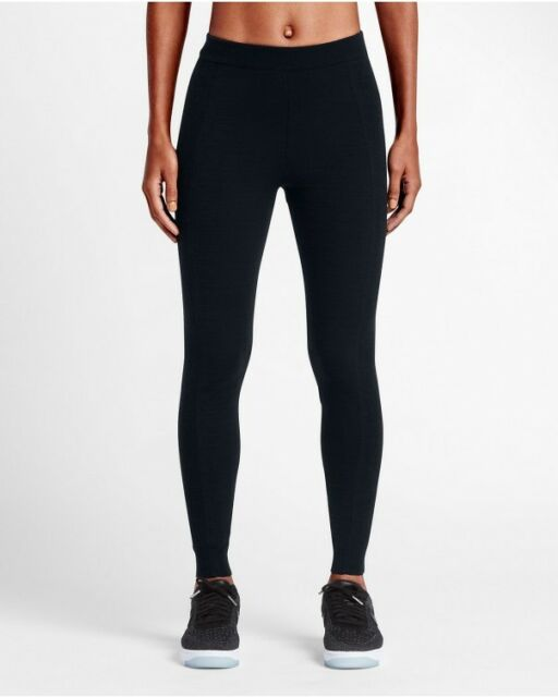 d7851db23c0b9b NIKE TECH KNIT (55% Cotton 45% Nylon) Slim Fit Winter Leggings WOMEN'S