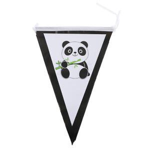 10pcs-drapeaux-lot-Panda-Papier-Banniere-Guirlande-drapeaux-pour-enfants-fete-d-039-anniversaire
