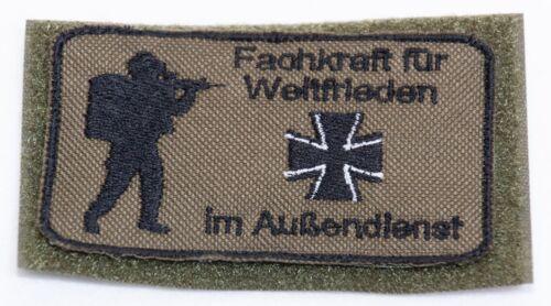 Veteran Patch Bundeswehr Bushcraft Soldat Reservisten Soldat