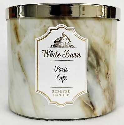 environ 411.06 g 1 BATH /& BODY WORKS Paris Cafe Café Brioche Vanilla Large 3-Wick Candle 14.5 Oz